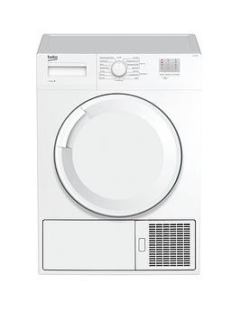 Beko Beko Dtgc7000W 7Kg Load, Full Size Condenser Sensor Dryer - White Picture