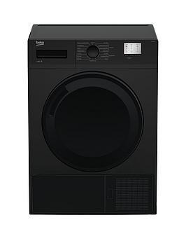 beko-dtgc8000bnbsp8kg-load-full-size-condenser-sensor-tumble-dryer-black