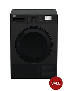 beko-dtgc8000b-8kg-load-full-size-tumble-dryer-next-day-delivery-black