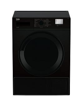 Beko Beko Dtgc7000B 7Kg Load, Full Size Condenser Sensor Dryer - Black Picture