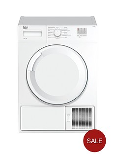 beko-dtgc8000w-8kg-load-full-size-tumble-dryer-next-day-delivery-whitenbsp