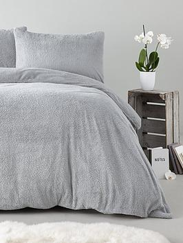 silentnight-super-soft-teddy-fleece-duvet-cover-setnbsp