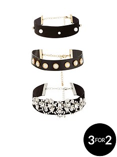 v-by-very-3pk-pearl-embellished-choker