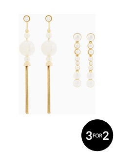 v-by-very-2pk-pearl-drop-earrings
