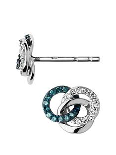 links-of-london-treasured-sterling-silver-white-amp-blue-diamond-earrings