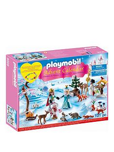 playmobil-playmobil-9008-advent-calender-039royal-ice-skating-trip039-with-a-children039s-bracelet