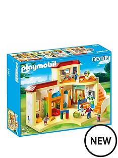 playmobil-playmobil-5567-city-life-sunshine-preschool-with-functional-blackboard-and-clock-hands