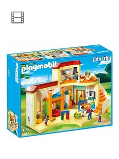 playmobil-playmobil-5567-city-life-sunshine-preschool-with-functional-blackboard-and-clock-hands