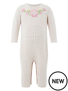 monsoon-newborn-callie-knitted-sleepsuit