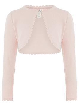 Monsoon Monsoon Girls Niamh Cardigan - Pink Picture