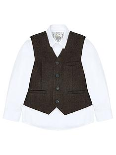 monsoon-bradley-waistcoat-and-shirt-set