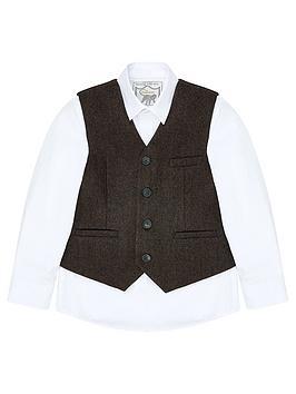 monsoon-bradley-waistcoat-and-shirt-set