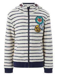 monsoon-sydney-stripe-zip-up-hoody