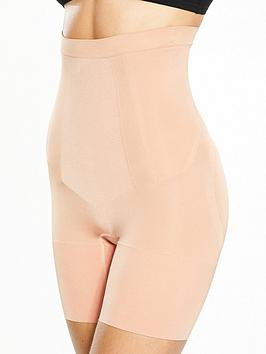 Spanx Spanx Super Firm Control Oncore High Waisted Mid Thigh Short - Soft  ... Picture