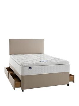 Silentnight Silentnight Miracoil 3 Pippa Memory Foam Pillowtop Divan Bed  ... Picture