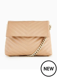 karen-millen-chevron-quilted-clutch-bag