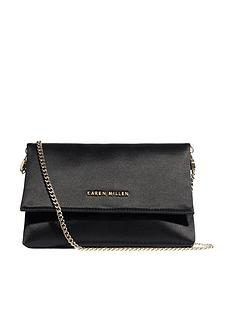 karen-millen-satin-brompton-clutch-bag