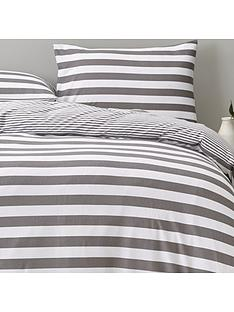 silentnight-jersey-stipe-duvet-set