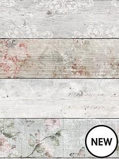superfresco-distressed-wood-floral-wallpaper