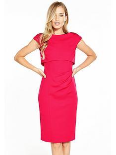 karen-millen-double-layer-pencil-dressnbsp