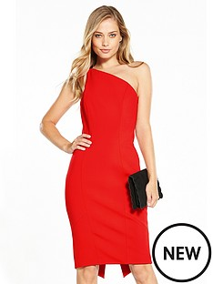 karen-millen-one-shoulder-angled-pencil-dress-collection