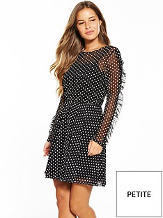 v-by-very-petite-printed-mesh-skater-dress