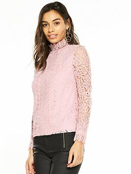 v-by-very-petite-high-neck-lace-top-blush