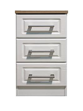 Swift Swift Regent Ready Assembled 3 Drawer Bedside Chest Picture