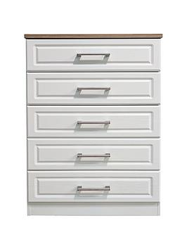 Swift Swift Regent Ready Assembled 5 Drawer Chest Picture