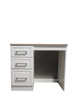 Product photograph showing Swift Regent Ready Assembled Multi Function Desk Dressing Table