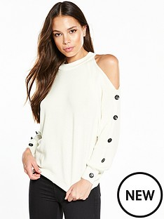 river-island-ivory-jumper-with-buttons