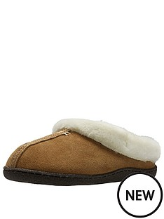 clarks-home-classic-faux-fur-slipper