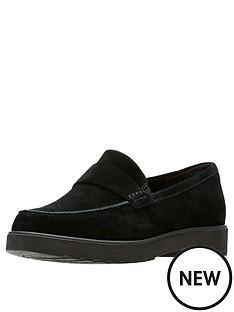 clarks-bellevue-hazen-suede-loafer