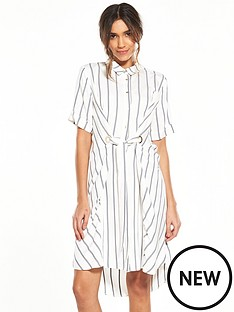 river-island-stripe-eyelet-shirt-dress