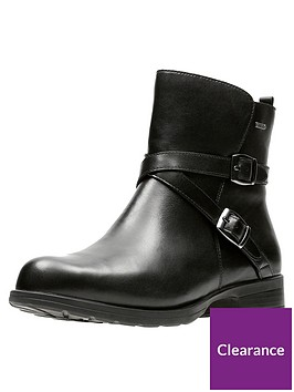 clarks-cheshunt-be-gore-texreg-buckle-strap-ankle-boot-black