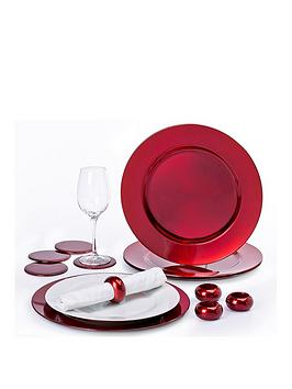 waterside-12-piece-charger-plate-set-red
