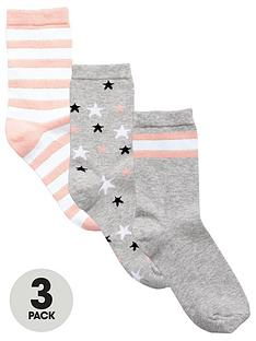 very-3-pack-stars-and-stripes-fashion-sock