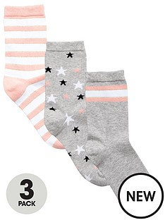 very-v-by-very-3-pack-stars-and-stripes-fashion-sock