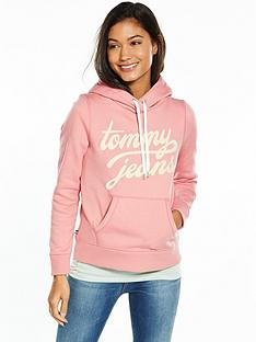 tommy-jeans-tjw-long-sleeved-hoodie-blush