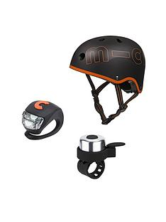 micro-scooter-black-helmet-bell-amp-light-safety-set-medium