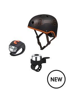 micro-scooter-black-helmet-bell-amp-light-safety-set-medium