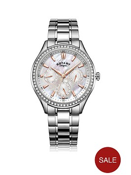 rotary-rotary-mop-dial-stone-set-bezel-chrono-silver-bracelet-ladies-watch