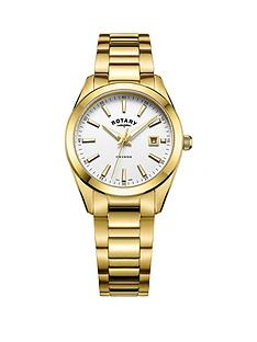 rotary-havana-white-dial-gold-plated-bracelet-ladies-watch