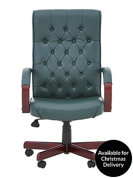 warwick-office-chair-green