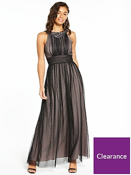 little-mistress-petite-mesh-maxi-dress-black