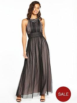 little-mistress-petite-mesh-maxi-dress-black