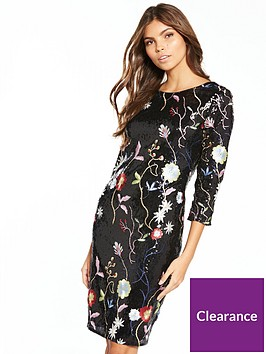 little-mistress-little-mistress-embroidered-floral-shift-dress