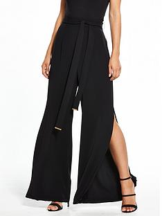 coast-morgan-wide-leg-side-split-trouser-black