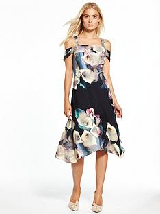 coast-lily-print-soft-shift-dress