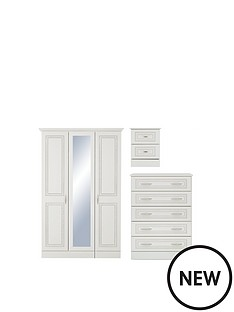 consort-dorchester-4-piece-package-3-door-wardrobe-4-drawer-chest-and-2-bedside-chests